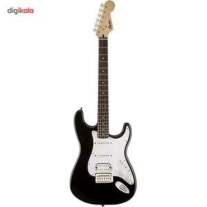 گیتار الکتریک فندر مدل Squier Bullet Strat with Tremolo HSS Black  Fender Squier Bullet Strat with
