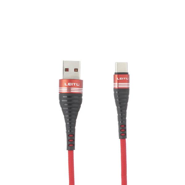 کابل تبدیل USB به USB-C لیتو مدل LD-11 طول 1 متر