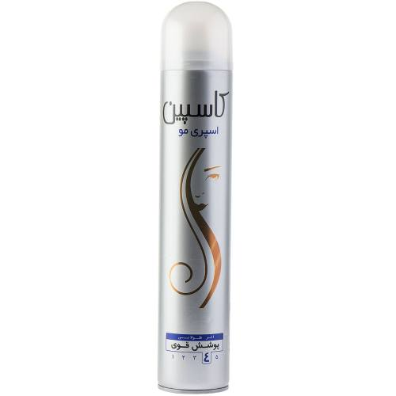 اسپری حالت دهنده مو Caspian مدل Hair Spray حجم 500 میلی لیتر
