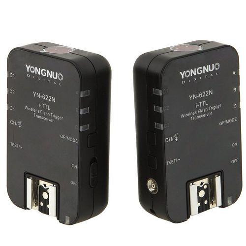 تریگر فلاش وایرلس یونگنو مدل YN-622N i-TTL مناسب برای دوربین های نیکون