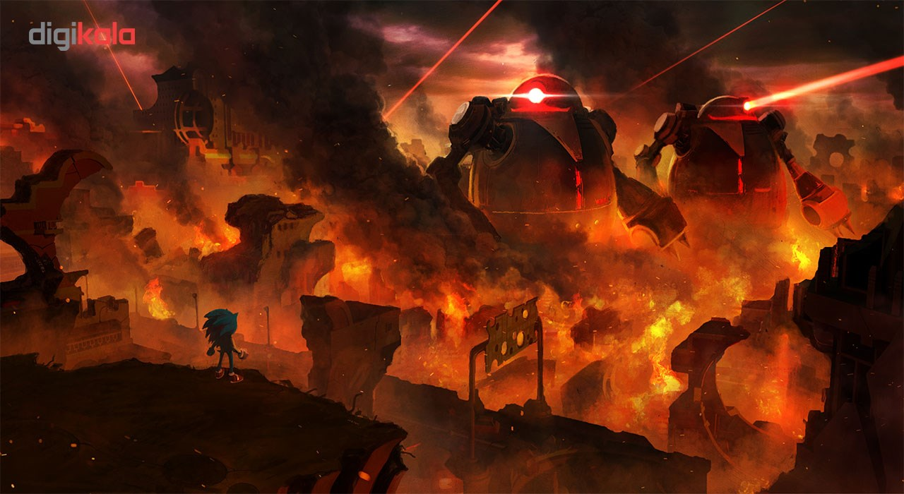 بازی Sonic Forces مخصوص Nintendo Switch