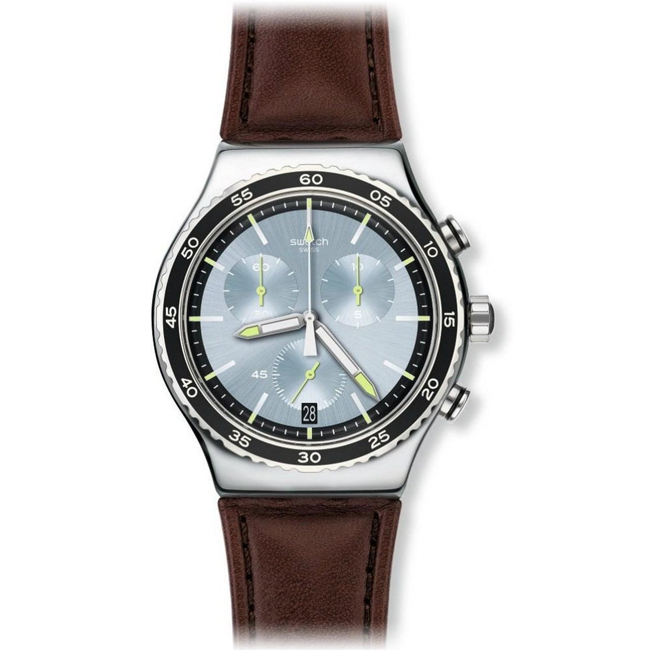 ساعت مچی عقربه ای مردانه سواچ مدل YVS429