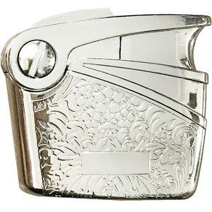 فندک نوبیلیس مدل Engraving Short  Silver 6575