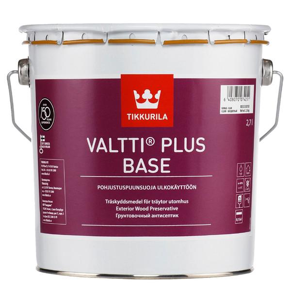 آستری چوب تیکوریلا مدل Valtti Plus Base حجم 3 لیتر