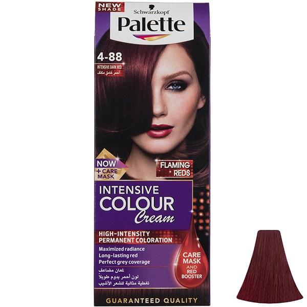 کیت رنگ موی پلت سری Intensive مدل Intensive Dark Red شماره 88-4
