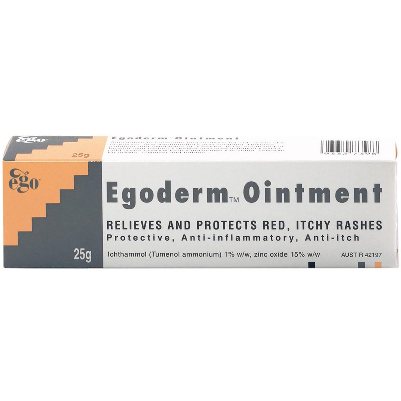پماد ایگو مدل Egoderm مقدار 25 گرم