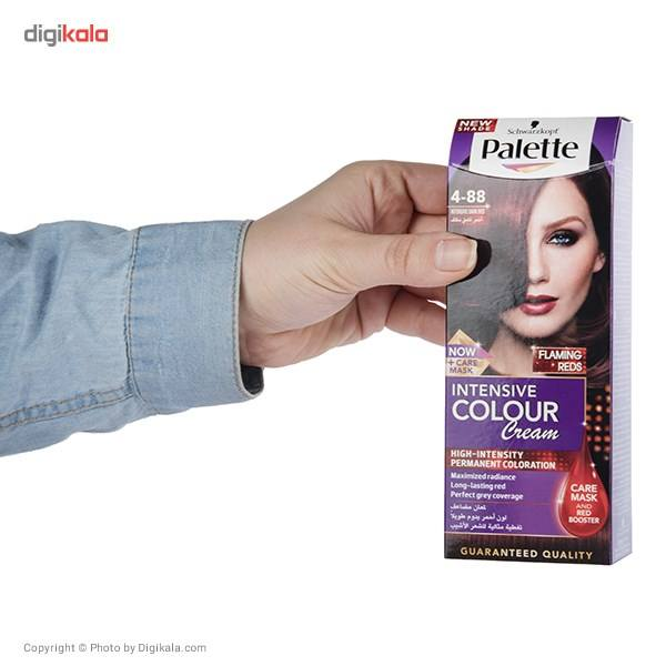 کیت رنگ موی پلت سری Intensive مدل Intensive Dark Red شماره 88-4 main 1 6