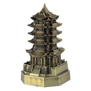 ماکت تزئینی شیانچی طرح برج پاگودا گوانجو مائو کد 09130083