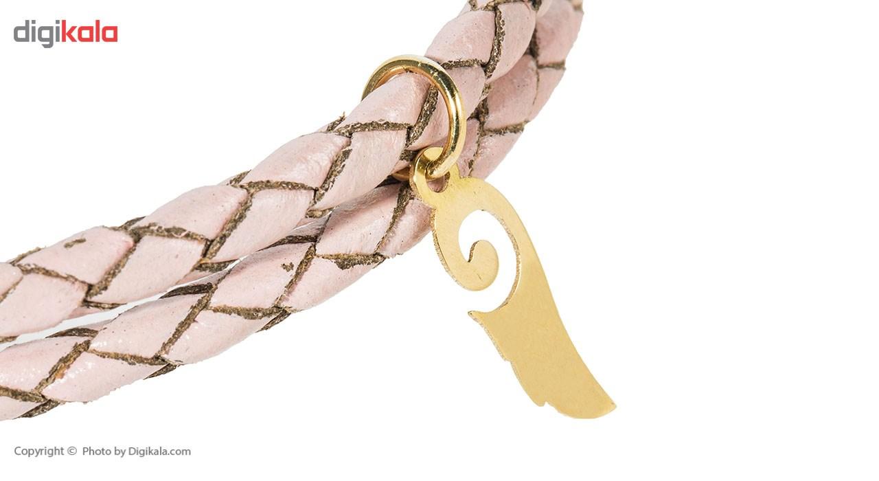 دستبند طلای 18 عیار پندار گلد مدل AG50