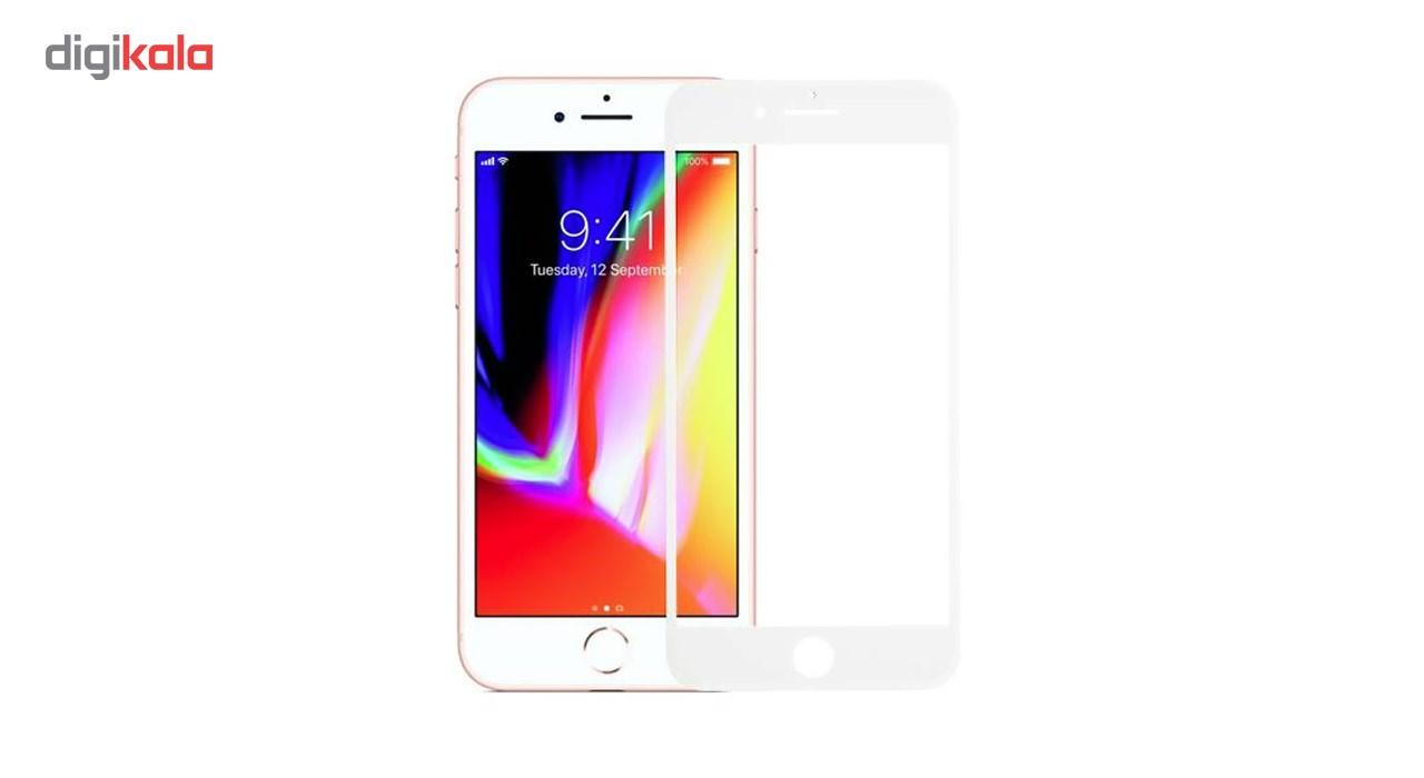 محافظ صفحه نمایش شیشه ای Full Cover و پشت شیشه ای Full Cover کوالا مناسب برای گوشی موبایل اپل آیفون 7 پلاس main 1 2