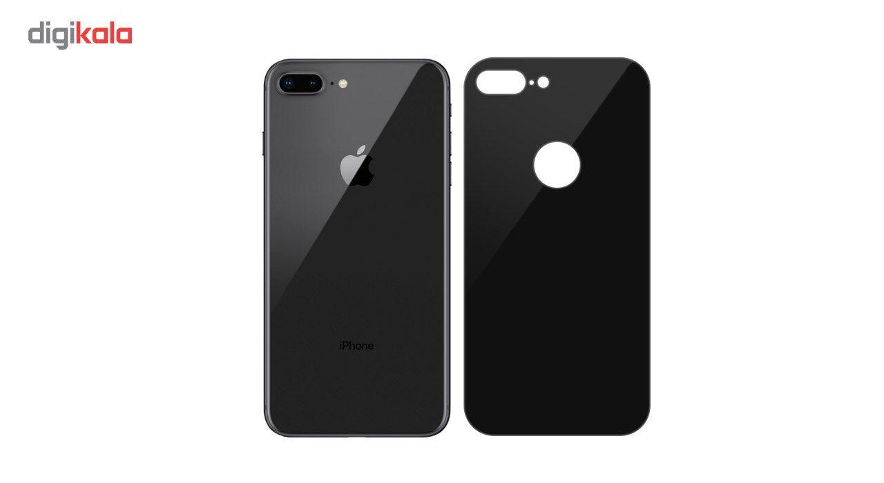 محافظ صفحه نمایش شیشه ای Full Cover و پشت شیشه ای Full Cover کوالا مناسب برای گوشی موبایل اپل آیفون 7 پلاس main 1 5