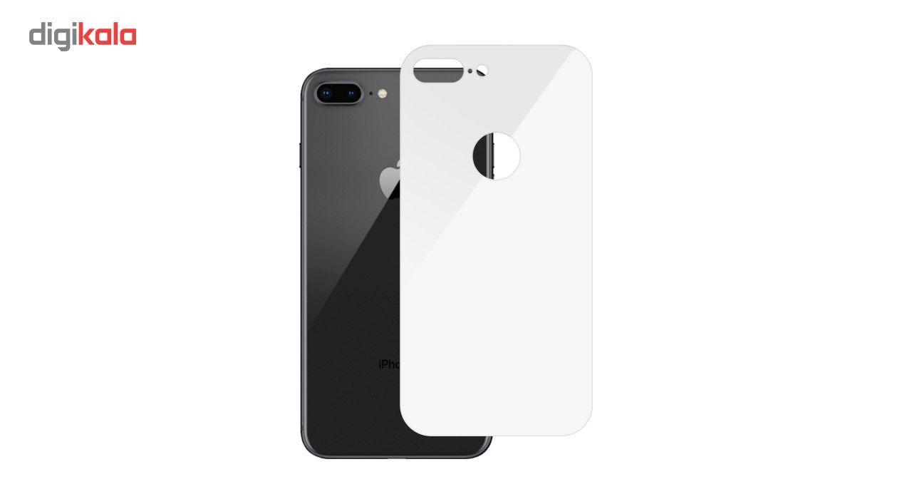 محافظ صفحه نمایش شیشه ای Full Cover و پشت شیشه ای Full Cover کوالا مناسب برای گوشی موبایل اپل آیفون 7 پلاس main 1 6