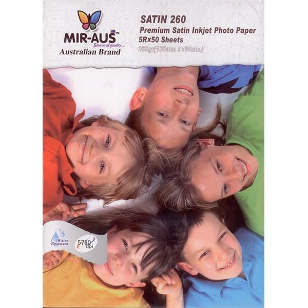 کاغذ  عکس MIRAUS مخصوص پرینتر جوهر افشان مدل SATIN