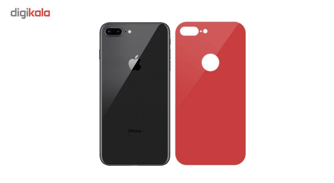 محافظ صفحه نمایش شیشه ای Full Cover و پشت شیشه ای Full Cover کوالا مناسب برای گوشی موبایل اپل آیفون 7 پلاس main 1 8