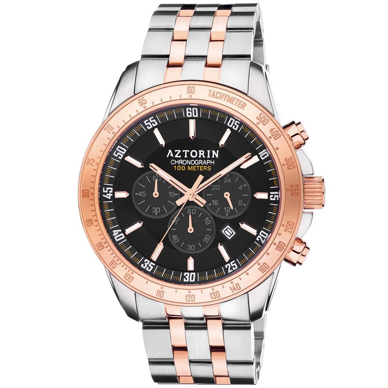 ساعت مچی عقربه ای مردانه ازتورین مدل A059.G288