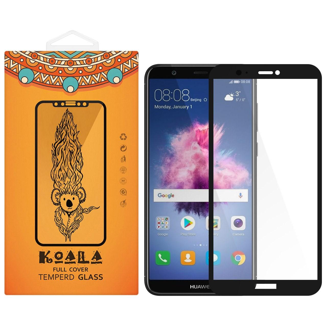 محافظ صفحه نمایش شیشه ای کوالا مدل Full Cover مناسب برای گوشی موبایل هوآوی P Smart