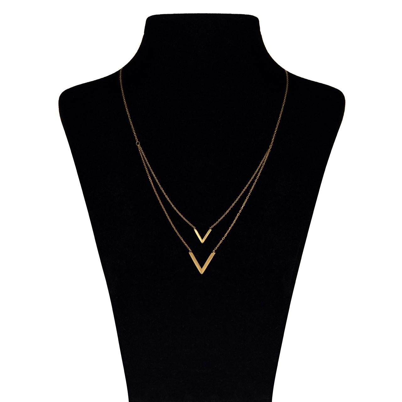 قیمت گردنبند طلا 18 عیار ماهک مدل MM0363
