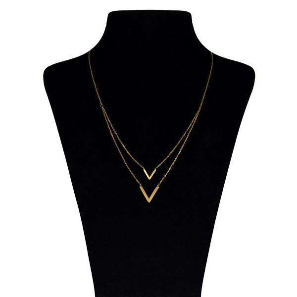 گردنبند طلا 18 عیار ماهک مدل MM0363
