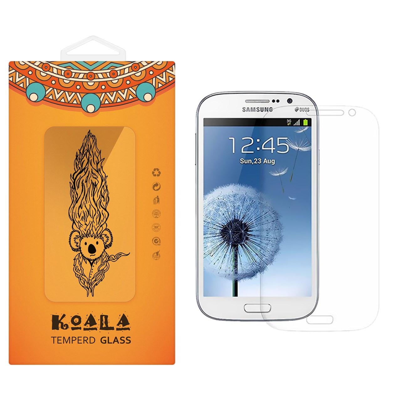 محافظ صفحه نمایش شیشه ای کوالا مدل Tempered مناسب برای گوشی موبایل سامسونگ Galaxy Grand Neo Plus