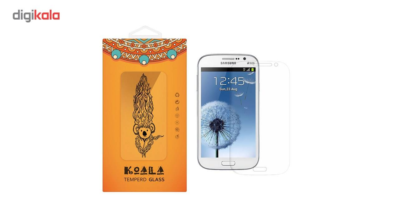 محافظ صفحه نمایش شیشه ای کوالا مدل Tempered مناسب برای گوشی موبایل سامسونگ Galaxy Grand Neo Plus main 1 1