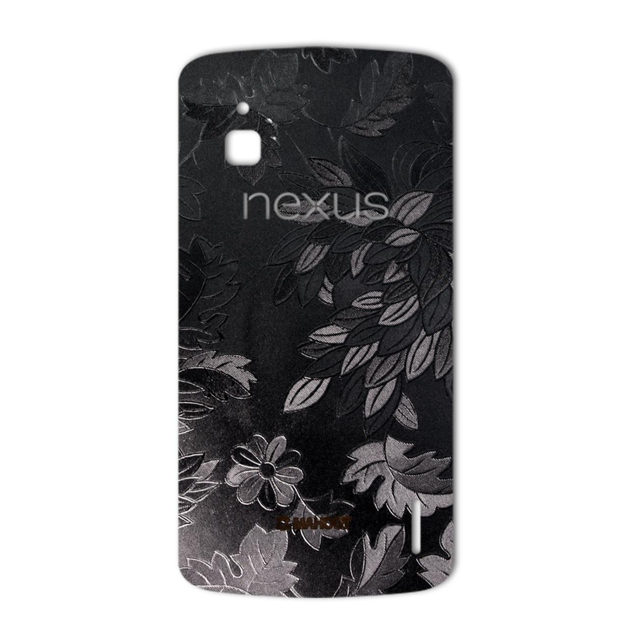 برچسب پوششی ماهوت مدل Wild-flower Texture مناسب برای گوشی  Google Nexus 4