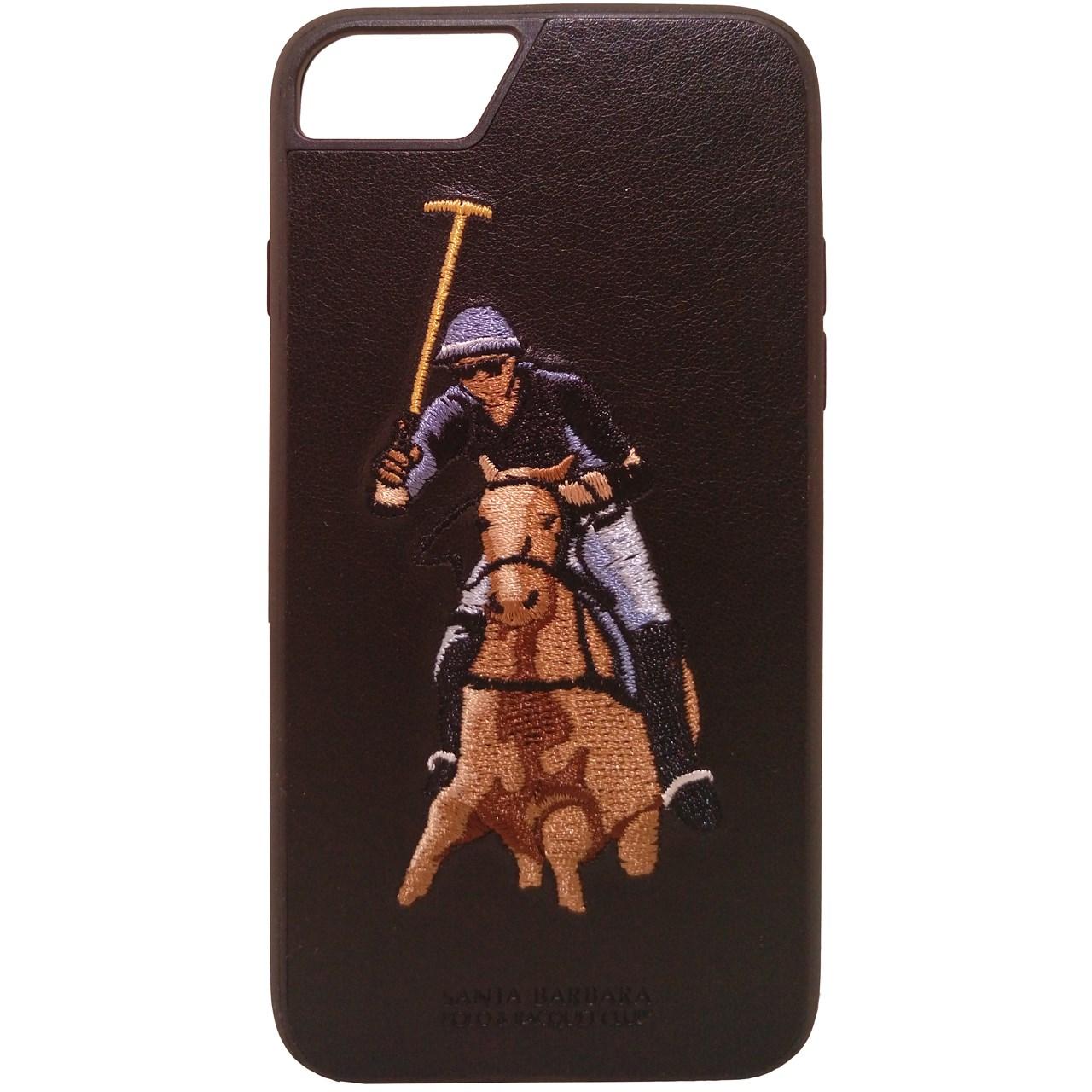 کاور سانتا باربارا مدل Jockey-Blk مناسب برای گوشی موبایل آیفون 7 Plus و 8 Plus