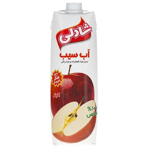 آبمیوه سیب شادلی حجم 1 لیتر