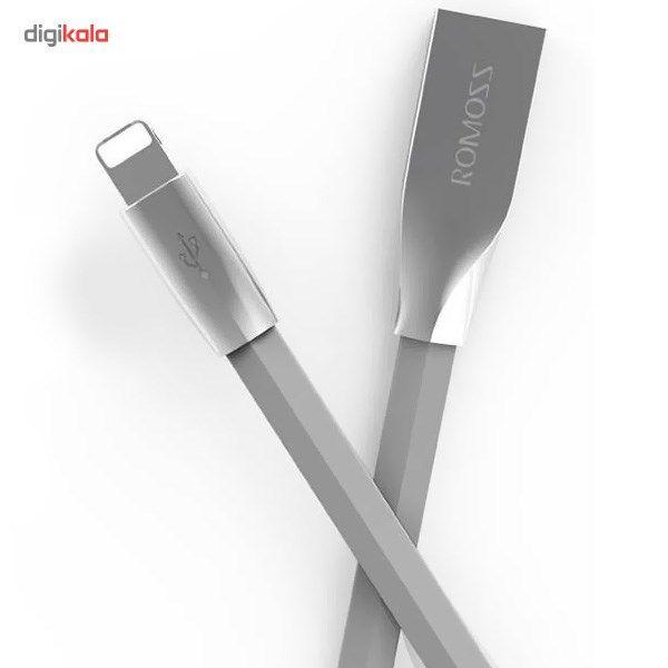 کابل تبدیل USB به microUSB/لایتنینگ روموس مدل Rolink Hybrid طول 1 متر main 1 4
