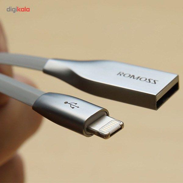 کابل تبدیل USB به microUSB/لایتنینگ روموس مدل Rolink Hybrid طول 1 متر main 1 5