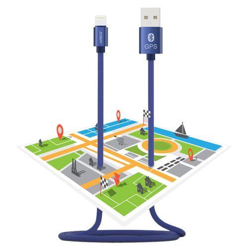 کابل تبدیل USB به لایتنینگ جووی  مدل Li113  با قابلیت بلوتوث و GPS به طول 1 متر