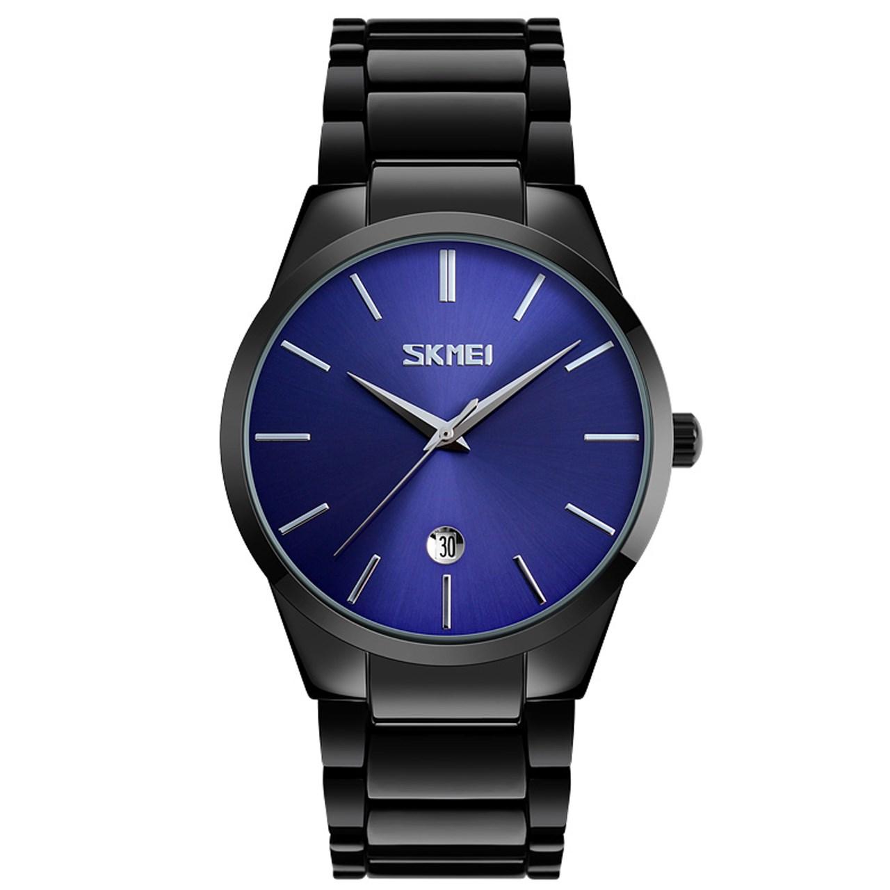 ساعت مچی عقربه ای مردانه  اسکمی مدل9140  کد 02