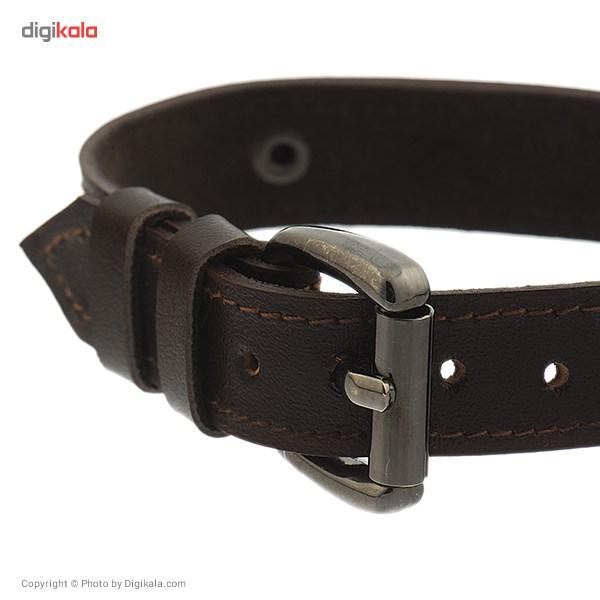 دستبند مردانه زرین مدل MG-10