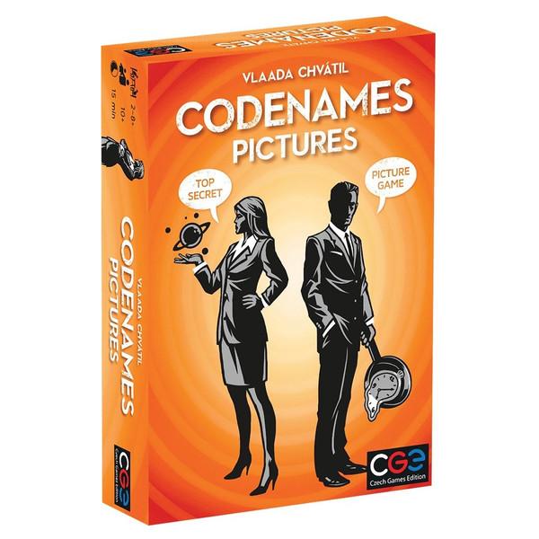 بازی فکری سی جی ای مدل Codenames Pictures