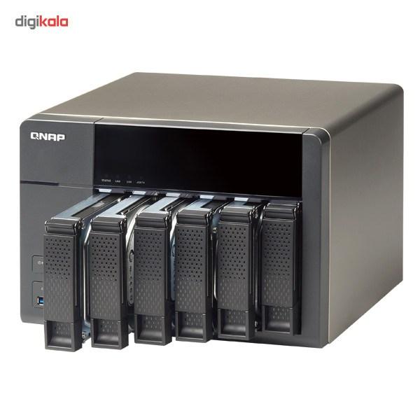 ذخیره ساز تحت شبکه کیونپ مدل TS-651-2G بدون هارددیسک