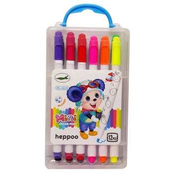 ماژیک رنگ آمیزی 12 رنگ هپوو کد 451281