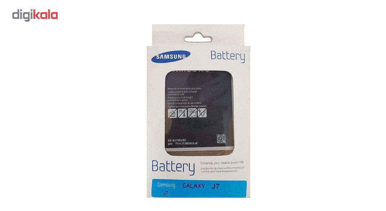 باتری موبایل مدل EB-BJ700CBE  مناسب برای گوشی موبایل GALAXY J7 main 1 2