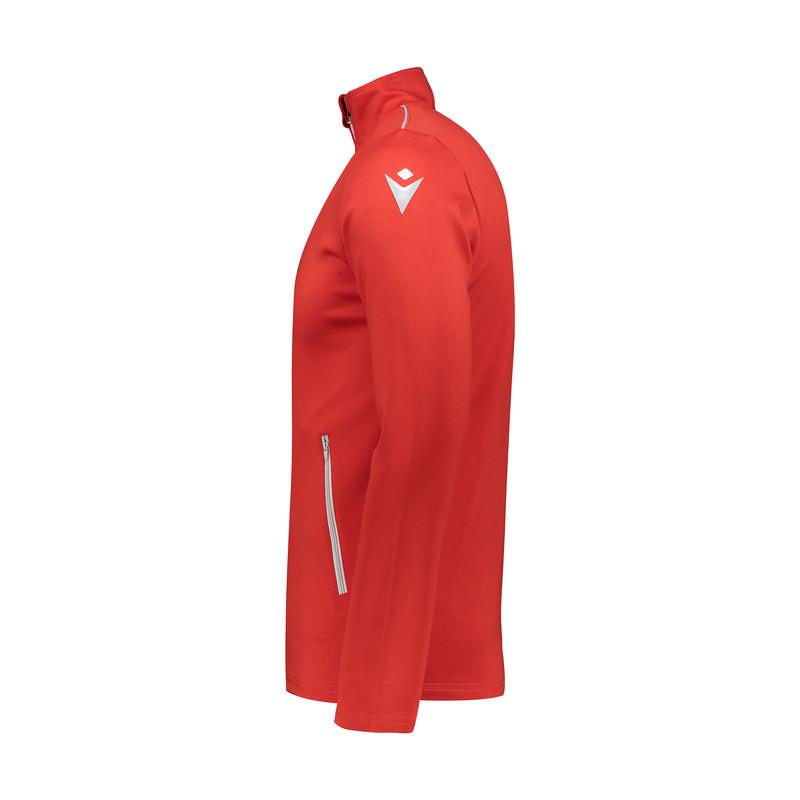 ست سویشرت و شلوار ورزشی مردانه مکرون مدل نمسیس رنگ قرمز