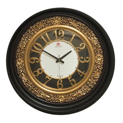 ساعت دیواری لوتوس مدل Golden01