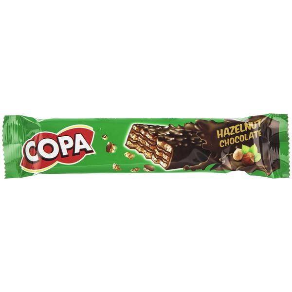 ویفر کاکائویی با کرم فندقی کوپا مقدار 32 گرم