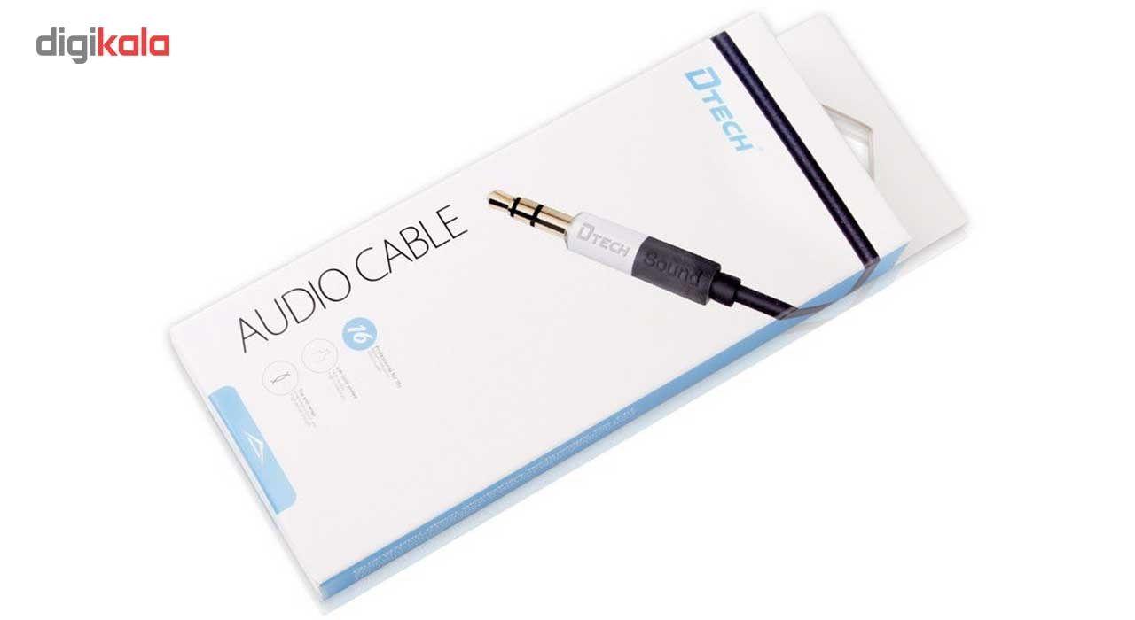 کابل صدای صدای 3.5 میلی متری دیتک مدل DT-T0203 به طول 1.5 متر main 1 3