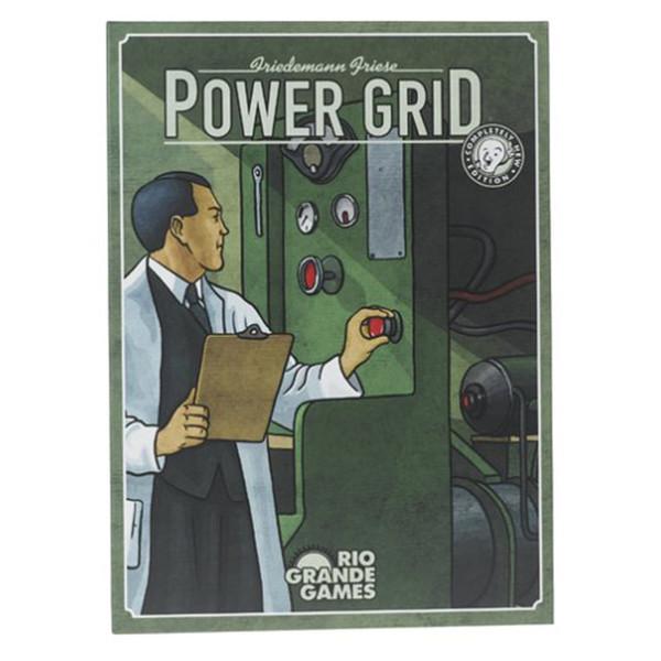 بازی رومیزی ریو گراند گیمز  مدل Power Grid