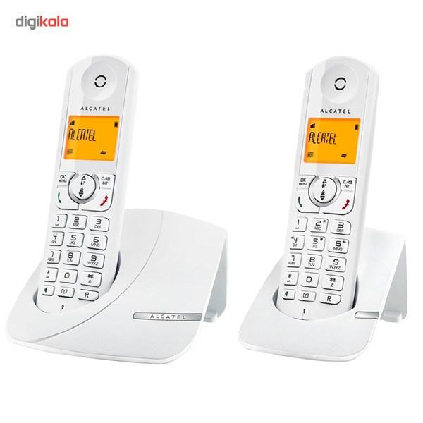 تلفن بیسیم آلکاتل مدل F370 Duo