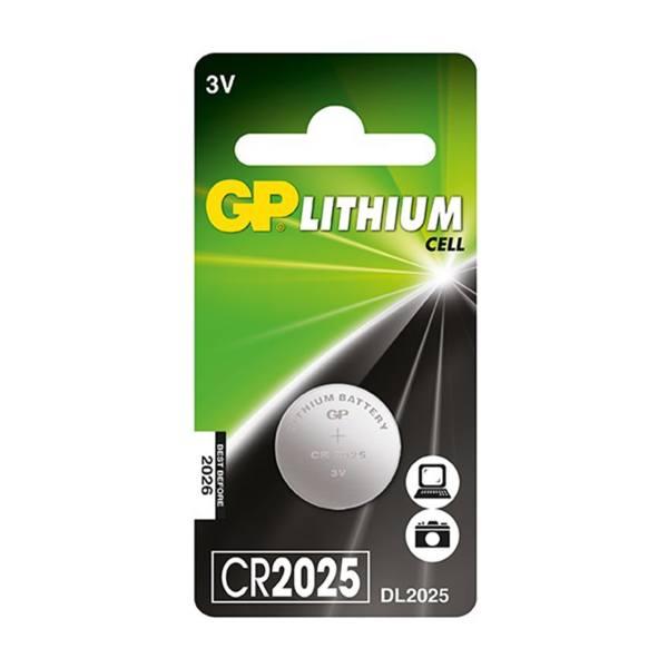 باتری سکه ای جی پی مدل CR2025
