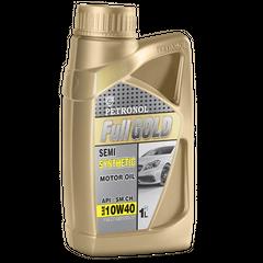 روغن موتور خودرو پترونول مدل فول گلد نیمه سینتتیک SAE 10W-40 ظرفیت 1 لیتر