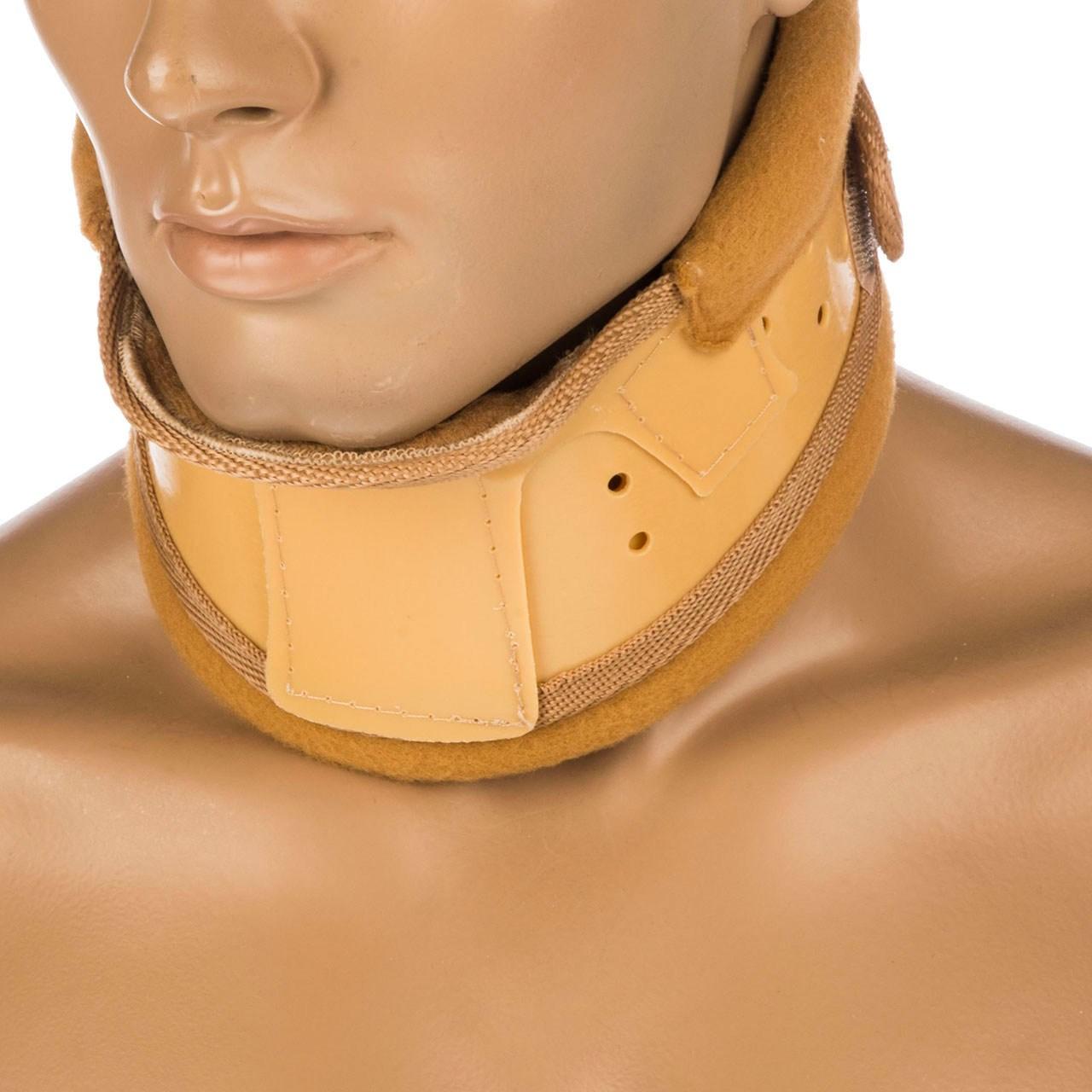گردن بند طبی پاک سمن مدل Hard With Chain Pad سایز متوسط