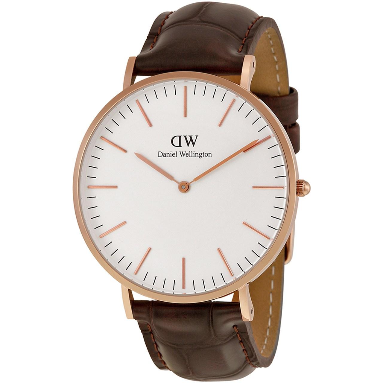 ساعت مچی عقربه ای مردانه دنیل ولینگتون مدل DW00100011