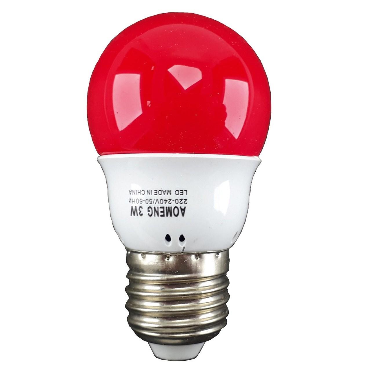 لامپ  ال ای دی 3 وات AOMENG