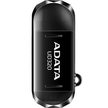 فلش مموری OTG ای دیتا مدل DashDrive Durable UD320 ظرفیت 16 گیگابایت | ADATA DashDrive Durable UD320 OTG Flash Memory - 16GB