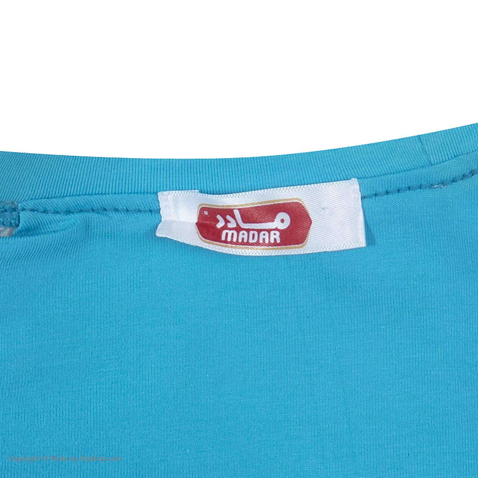ست تی شرت و شلوارک راحتی مردانه مادر مدل 2041107-52 -  - 7