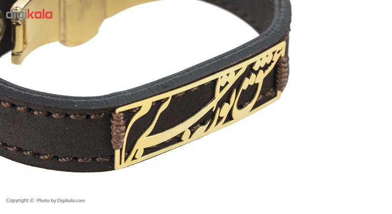 دستبند طلا 18 عیار ماهک مدل MB0441